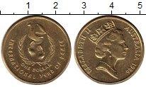 Изображение Монеты Австралия и Океания Австралия 1 доллар 1986 Латунь UNC-