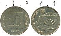 Изображение Дешевые монеты Израиль 10 агор 2005