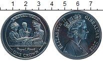 Изображение Монеты Гибралтар 1 крона 2005 Медно-никель UNC