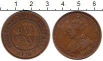 Изображение Монеты Австралия и Океания Австралия 1 пенни 1914 Бронза XF-