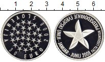 Изображение Монеты Европа Словения 30 евро 2008 Серебро Proof