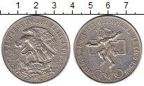 Изображение Монеты Северная Америка Мексика 25 песо 1968 Серебро VF