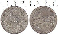 Изображение Монеты Австрия 100 шиллингов 1979 Серебро VF