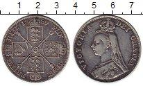 Изображение Монеты Европа Великобритания 1 флорин 1889 Серебро VF