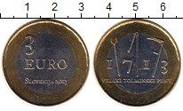 Изображение Монеты Словения 3 евро 2013 Биметалл UNC-