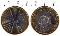 Изображение Монеты Словения 3 евро 2009 Биметалл UNC-