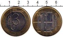 Изображение Монеты Европа Словения 3 евро 2010 Биметалл UNC-