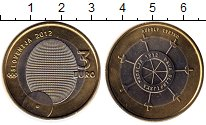 Изображение Монеты Европа Словения 3 евро 2012 Биметалл UNC-