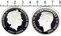 Изображение Монеты Австралия 50 центов 2000 Серебро Proof `Георг VI. Из серии