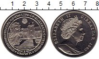 Изображение Мелочь Гибралтар 1 крона 2003 Медно-никель UNC