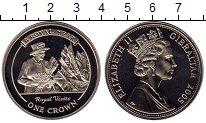 Изображение Мелочь Великобритания Гибралтар 1 крона 2005 Медно-никель UNC