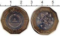 Изображение Монеты Африка Кабо-Верде 100 эскудо 1994 Биметалл UNC