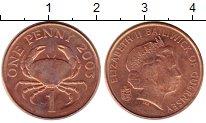 Изображение Монеты Гернси 1 пенни 2003 Медно-никель UNC-