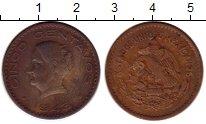Изображение Монеты Мексика 5 сентаво 1943 Бронза VF