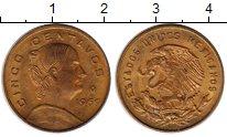 Изображение Монеты Мексика 5 сентаво 1969 Бронза XF