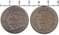 Изображение Монеты Мексика 1 песо 1982 Медно-никель XF