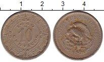 Изображение Монеты Мексика 10 сентаво 1940 Медно-никель VF