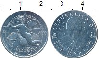 Изображение Монеты Европа Сан-Марино 10 лир 2000 Алюминий UNC