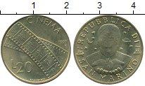 Изображение Монеты Сан-Марино 20 лир 1997 Латунь UNC
