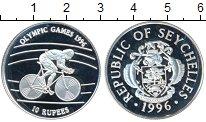 Изображение Монеты Сейшелы 10 рупий 1996 Серебро Proof- Олимпийские игры, ве