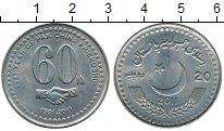 Изображение Монеты Азия Пакистан 20 рупий 2011 Медно-никель UNC-