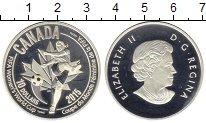 Изображение Монеты Канада 10 долларов 2015 Серебро Proof Женский Чемпионат Ми