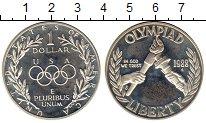 Изображение Монеты Северная Америка США 1 доллар 1988 Серебро Proof-