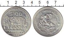 Изображение Монеты Мексика 100 песо 1985 Серебро UNC-