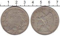 Изображение Монеты Чили 1 песо 1903 Серебро VF