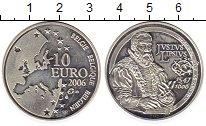 Изображение Монеты Европа Бельгия 10 евро 2006 Серебро Proof-