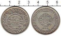 Изображение Монеты Мозамбик 20 эскудо 1952 Серебро VF