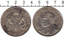 Изображение Монеты Гамбия 10 даласи 1975 Медно-никель XF