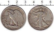 Изображение Монеты Северная Америка США 1/2 доллара 1943 Серебро VF