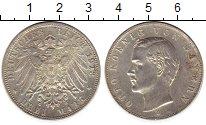 Изображение Монеты Бавария 3 марки 1913 Серебро XF-