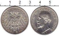 Изображение Монеты Липпе-Детмольд 2 марки 1906 Серебро UNC-