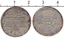 Изображение Монеты Германия Пруссия 1/24 талера 1764 Серебро XF-