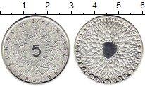 Изображение Монеты Европа Нидерланды 5 евро 2011 Посеребрение UNC