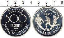 Изображение Монеты Венгрия 500 форинтов 1988 Серебро Proof