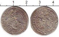 Изображение Монеты Австрия 3 крейцера 1697 Серебро XF-