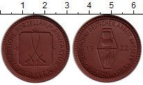 Изображение Монеты Германия Мейсен Жетон 1922 Фарфор UNC