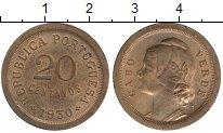 Изображение Монеты Африка Кабо-Верде 20 сентаво 1930 Бронза UNC-