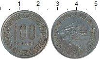Изображение Монеты Африка Камерун 100 франков 1972 Медно-никель XF-