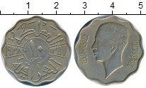 Изображение Монеты Ирак 10 филс 1938 Медно-никель XF-