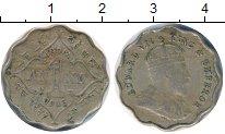 Изображение Монеты Индия 1 анна 1908 Медно-никель VF