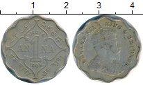 Изображение Монеты Индия 1 анна 1909 Медно-никель XF