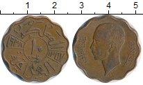 Изображение Монеты Ирак 10 филс 1938 Бронза XF