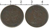 Изображение Монеты Индия Гвалиор 1/4 анны 1942 Бронза VF