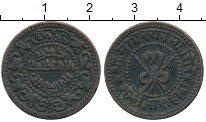 Изображение Монеты Индия Гвалиор 1/4 анны 1896 Медь VF