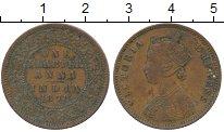 Изображение Монеты Индия 1/4 анны 1878 Медь VF