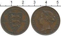 Изображение Монеты Великобритания Остров Джерси 1/24 шиллинга 1894 Бронза XF